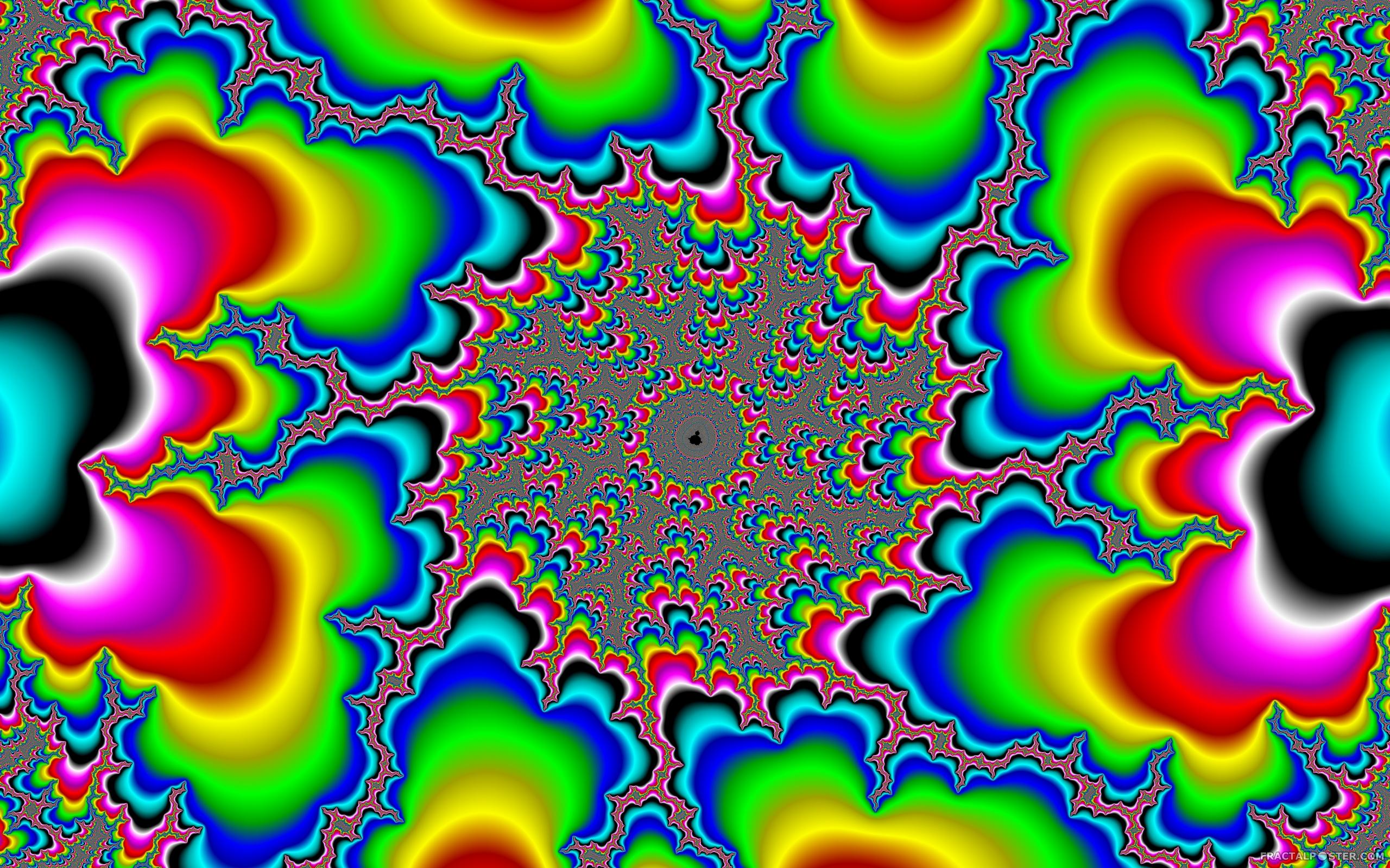 rainbow fractal wallpaper - photo #22