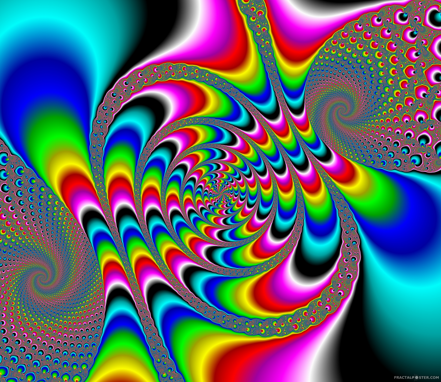 Quot Rainbow Fun 1 Quot Fractal Image By Orbulon Hd Wallpapers