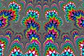 Mandelbrot fractal image ..Color symmetry.