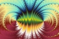 Mandelbrot fractal image .Abstract art