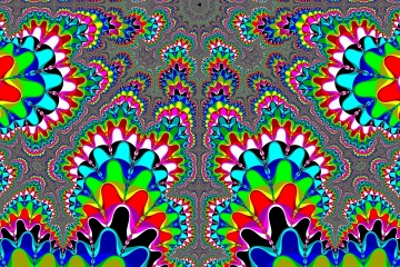 mandelbrot fractal image named .Color symmetry.