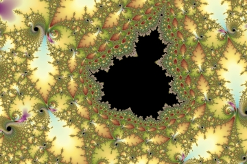 mandelbrot fractal image named 023autumn leaves