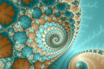 mandelbrot fractal image named Alien Bubbles