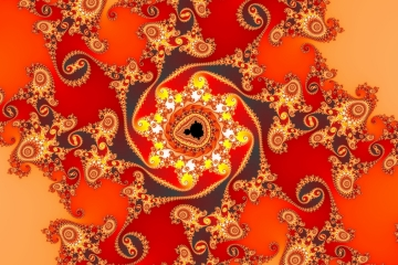 mandelbrot fractal image named ancient legend