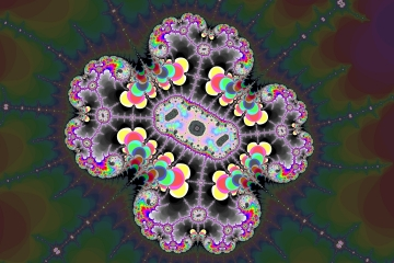 mandelbrot fractal image named Asymmetry ..