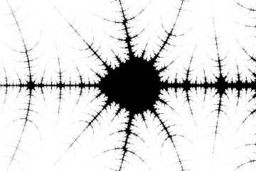 mandelbrot fractal image named bill gates