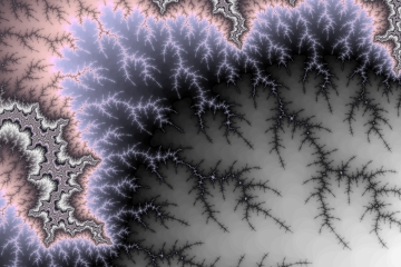 mandelbrot fractal image named Branching out