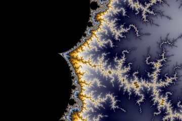 mandelbrot fractal image named break of night