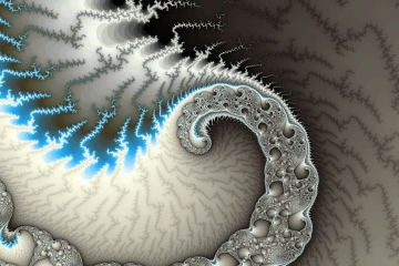 mandelbrot fractal image named Brilliantness
