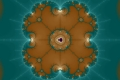 Mandelbrot fractal image Brotflower