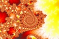 Mandelbrot fractal image Burn it