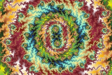 mandelbrot fractal image named Candy Land
