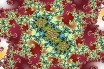 mandelbrot fractal image named catholic