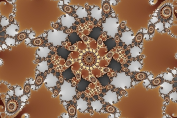 mandelbrot fractal image named clock tower