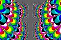 Mandelbrot fractal image Color symmetry
