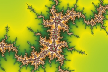 mandelbrot fractal image named Crocodile