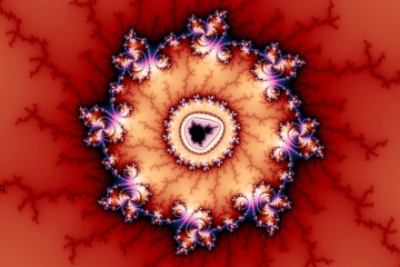 mandelbrot fractal image named Crown of Thorns
