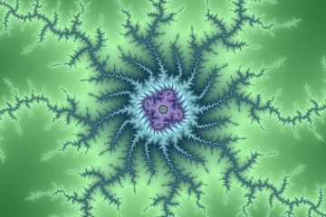 mandelbrot fractal image named double cold