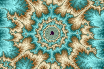 mandelbrot fractal image named dreams of gold