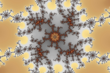 mandelbrot fractal image named dungeon I