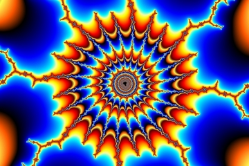 mandelbrot fractal image named electrified