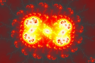 mandelbrot fractal image named eternal flame