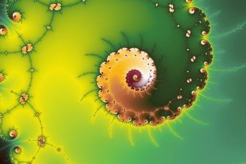 mandelbrot fractal image named Eternal Spiral