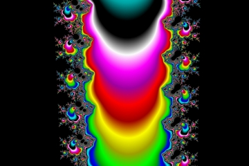 mandelbrot fractal image named ethnic art