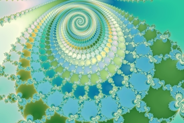 mandelbrot fractal image named evolution