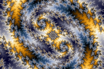 mandelbrot fractal image named eye of the storm
