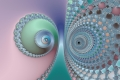 Mandelbrot fractal image Eyes of the owl