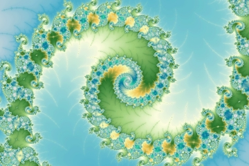 mandelbrot fractal image named fiddlehead