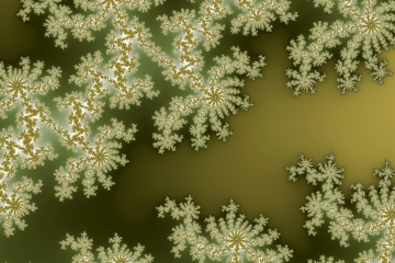 mandelbrot fractal image named forest floor