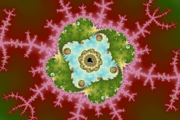 mandelbrot fractal image named forward I