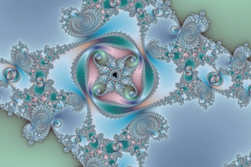 mandelbrot fractal image named four of spades