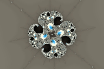 mandelbrot fractal image named freezy peace