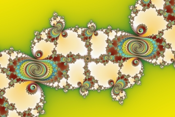 mandelbrot fractal image named Geometrical art