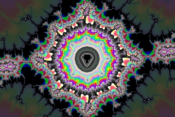 mandelbrot fractal image named Geometry I