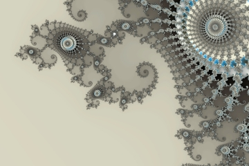 mandelbrot fractal image named gray lace