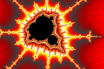 mandelbrot fractal image named heart of thorns