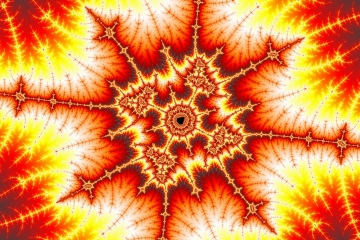 mandelbrot fractal image named hells cross