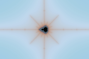 mandelbrot fractal image named Home Again