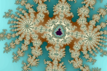 mandelbrot fractal image named ice jewel