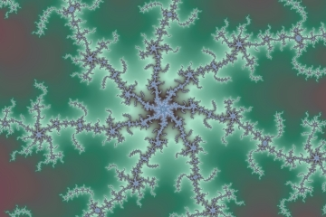 mandelbrot fractal image named Icy Web