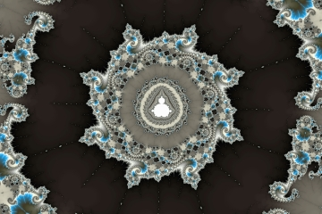 mandelbrot fractal image named Incomparably