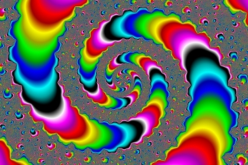 mandelbrot fractal image named Infinite colors