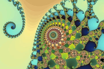 mandelbrot fractal image named magic garden 2