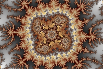 mandelbrot fractal image named magical