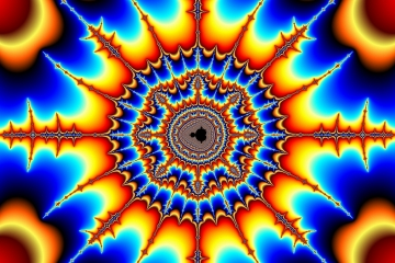 mandelbrot fractal image named man-made