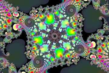 mandelbrot fractal image named Merry color.